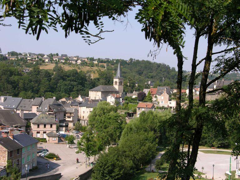 Vue de la commune Le Monastère