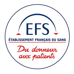 Logo de l'établissement français du sang
